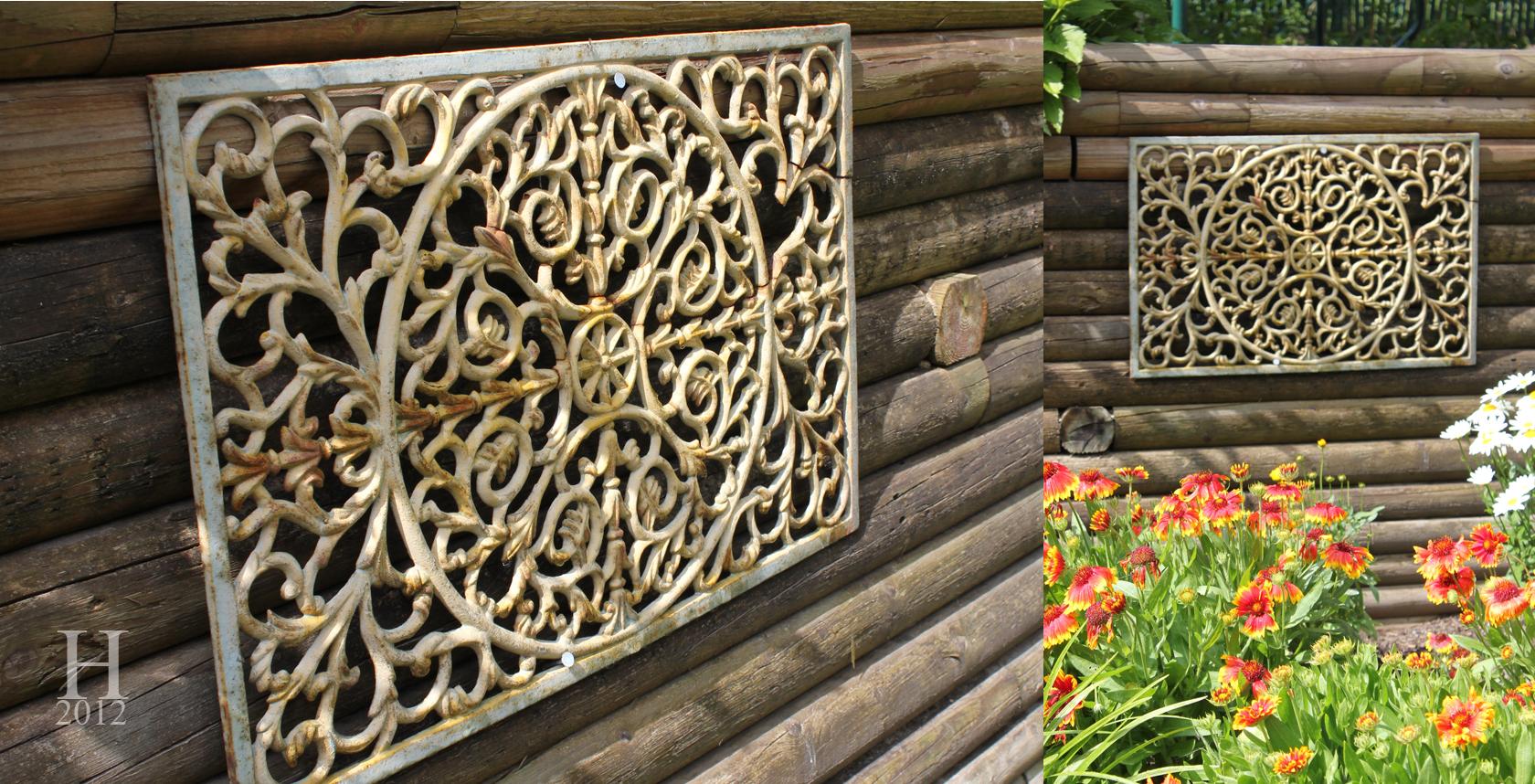 Rustic garden ornaments - Ornate