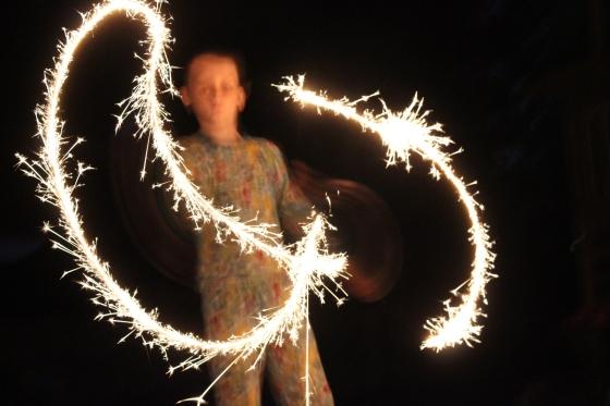 SparklersLevi